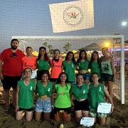 Plajda U14 ve U18 Şampiyonu DİGEM!